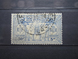 """VEND BEAU TIMBRE DES NOUVELLES-HEBRIDES N° 95 , CACHET """" VILA """" !!! - Used Stamps"""