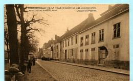 AALST - Bombardement De La Ville D'Alost (27 Et 28 Septembre 1914) - L'Ecole Des Pupilles - Aalst