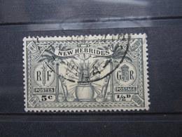 """VEND BEAU TIMBRE DES NOUVELLES-HEBRIDES N° 91 , CACHET """" VILA """" !!! - Used Stamps"""