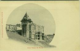 SWITZERLAND - HOTEL PALACE ST. MORITZ - R. GULER PHOTOGR. 1900s (BG1727) - GR Grisons