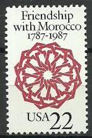 USA 1987 Mi 1934 MNH ( ZS1 USA1934dav144B ) - Gemeinschaftsausgaben