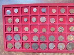 40 MONNAIES ANCIENNES EUROPE-MONDE LOT DE TRES BONNE QUALITE !!! - Coins & Banknotes