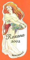 étiquette + Etiq De Dos Vin De Cahors Cuvée Roxana 2002 à Saint Laurent Des Vignes - 75 Cl - Bergerac