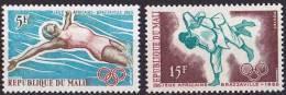 """Mali YT 83 & 84 """" Jeux Africains """" 1965 Neuf** - Mali (1959-...)"""