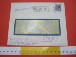 T1 ITALIA ANNULLO TARGHETTA - 1959 TORINO PT INDICATE A TERGO RETRO INDIRIZZO DEL MITTENTE BUSTA COVER - Posta