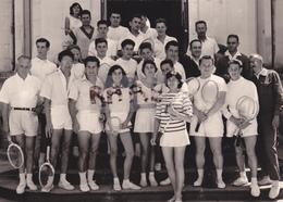 PHOTO ANCIENNE,86,VIENNE,POITIERS,CLUB DE TENNIS,JOUEUR,RARE - Lieux