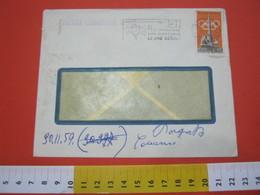 T1 ITALIA ANNULLO TARGHETTA - 1959 TORINO PT PER IMPOSTARE NON ASPETTATE ORE SERALI FR. OLIMPIADE ROMA 1960 15 LIRE - Posta
