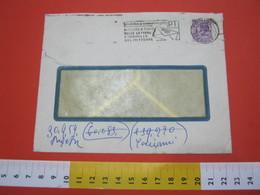 T1 ITALIA ANNULLO TARGHETTA - 1959 TORINO PT INDICATE A TERGO DELLE LETTERE INDIRIZZO DEL MITTENTE BUSTA COVER - Posta
