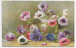 Favourite Flowers - Anemones -  Tuck Oilette 3414 - Flowers