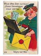 ( 14 ) ISIGNY SUR MER Carte à Systéme La Factrice - Frankreich