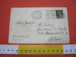 T1 ITALIA ANNULLO TARGHETTA - 1931 ROMA PT GLI UFFICI POSTALI ACCETTANO PER INCASSO EFFETTI ASSEGNI FATTURE - Posta