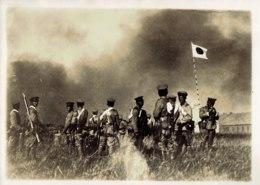 Photo, La Prise De Mukden,l'état Major Japonais,photo Meurisse. - Krieg, Militär