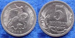 RUSSIA - 5 Kopeks 2008 Y# 601 Republic Monetary Reform (1998) - Edelweiss Coins - Russia