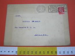 T1 ITALIA ANNULLO TARGHETTA - 1932 MILANO PT SERVITEVI DEI PACCHI POSTALI URGENTI - Posta