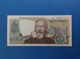 1973 ITALIA BANCONOTA FDS 2000 LIRE GALILEO GALILEI - [ 2] 1946-… : Repubblica
