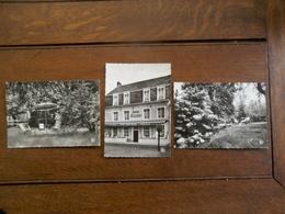 Drie Stuks  Oude    Fotokaarten   HOTEL GEERTS  WESTERLOO - Westerlo