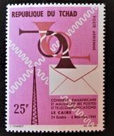 CONGRES DES POSTES ET TELECOMS 1964 - NEUF * - YT PA 22 - MI 124 - Tchad (1960-...)