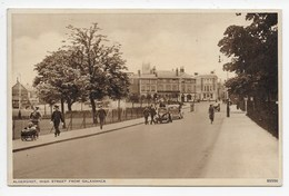 Aldershot, High Street From Salamanca - England