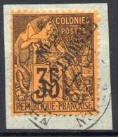 !!! PRIX FIXE : NOUVELLE CALEDONIE, N°31 OBLITERATION SUPERBE SUR FRAGMENT - Nouvelle-Calédonie