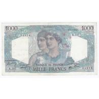 FAY 41/10 - 1000 FRANCS MINERVE ET HERCULE - 17/01/1946 - TB A TTB - PICK 130 - - 1871-1952 Anciens Francs Circulés Au XXème