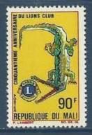 """Mali YT 106 """" Lions International """" 1967 Neuf** - Mali (1959-...)"""