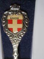 SAVOIE Cuillére à Café De Collection Avec Sa Boite - Obj. 'Souvenir De'