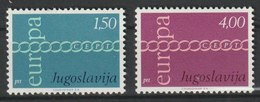 MiNr. 1416 - 1417 Jugoslawien  / 1971, 4. Mai. Europa. - 1945-1992 Sozialistische Föderative Republik Jugoslawien