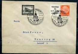 "German Empires 1937 Bedarfsbrief/Cover Mit Mi.Nr.A 8 A/W63 Zdr.u.SST.""Berlin Pankow1-700 Jahre Berlin,Werbeschau""1 Beleg - Germania"
