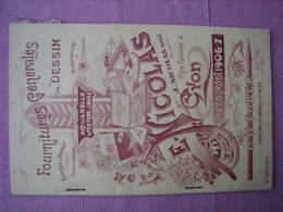 Lyon 1906/07 Catalogue Dessin,aquarelle,peinture Huile Ets. Nicolas 6 Rue Grolée - France