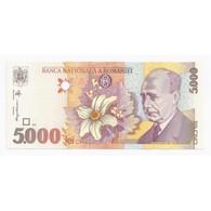 ROUMANIE - PICK 107 - 5000 LEI 1998 - NEUF - - Roumanie