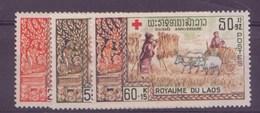 Laos N° 164 à 166** - Laos