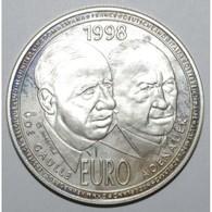 EUROPA - 20 EURO 1998 - DE GAULLE ADENAUER - ESSAI - BE - France