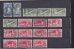 FRANCE 1924     N° 186/183/184     JEUX OLYMPIQUES DE PARIS  (1924) - REF 24-24 - Used Stamps