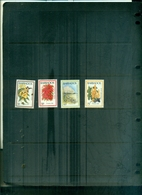 BARBADOS NOEL 84 FLEURS 4 VAL NEUFS A PARTIR DE 0.80 EUROS - Barbades (1966-...)