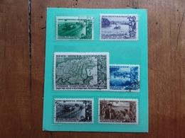 RUSSIA 1949 - Piano Quinquennale Nn. 1378/83 Timbrati + Spese Postali - 1923-1991 URSS