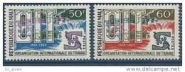 "Mali YT 116 & 117 "" O. I. T. "" 1969 Neuf** - Mali (1959-...)"