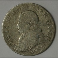 VATICAN - 1 LIRA 1866 R -  AN XXI - BEAU - - Vatican