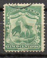 PEROU ( POSTE ) : Y&T N°  10  TIMBRES  TRES  BIEN  OBLITERES . - Pérou
