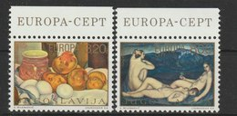 MiNr. 1557 - 1558  Jugoslawien  / 1975, 28. April. Europa: Gemälde. - 1945-1992 Sozialistische Föderative Republik Jugoslawien