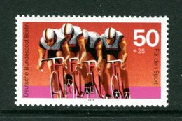 GERMANIA - BERLIN - CICLO VELO CYCLE  - CRONOMETRO A SQUADRE - Nuovo Senza Linguella MNH - Ciclismo