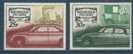 "Mali YT 118 & 119 "" Automobiles "" 1969 Neuf** - Mali (1959-...)"