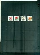 MALAYSIE FLEURS HIBISCUS 4 VAL NEUFS A PARTIR DE 0.60 EUROS - Malaysia (1964-...)