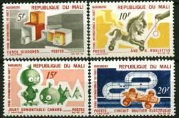 """Mali YT 120 à 123 """" Foire Du Jouet """" 1969 Neuf** - Mali (1959-...)"""