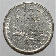 GADOURY 429 - 1/2 FRANC 1968 TYPE SEMEUSE - TTB - KM 931.1 - - France