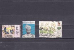 Malaisie Perlis Oblitéré  1971-86  Entre N°  46 Et 69    Papillon, Tuanka-Syed Putra, Produit Agricole - Perlis