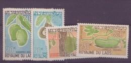 Laos N°185 à 188** - Laos