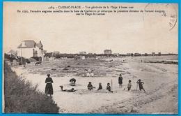 CPA 56 CARNAC-PLAGE Morbihan - Vue Générale De La Plage à Basse Mer ... ° Laurent Nel N° 4384 - Carnac