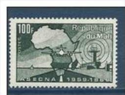 "Mali YT 132 "" ASECNA "" 1970 Neuf** - Mali (1959-...)"