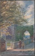 Parsons Norman - The Church Porch, Aldeburgh, Suffolk, C.1910 - Jarrold's Postcard - England