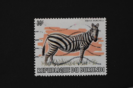 Burundi - 1982 Faune Animaux Sauvage Zèbre équus Burchelli N° 857 Oblitéré - Burundi
